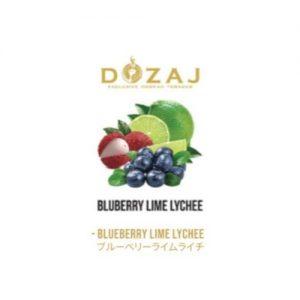シーシャ・水タバコ通販サイト DOZAJ(ドザジ) BRUEBERRY LIME LYCHEE(ブルーベリーライムライチ)